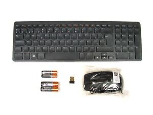 DELL KM713 Wireless Cordless Keyboard & Mouse Set Combo Kit SPANISH Layout Used