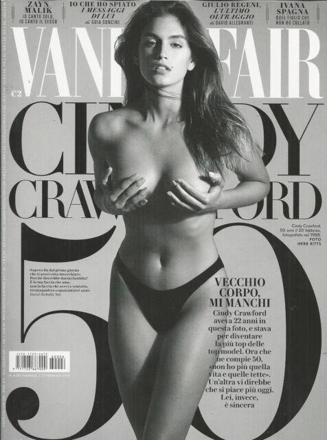 Vanity Fair Italian magazine Supermodel Cindy Crawford Zayn Malik Ivana Spagna