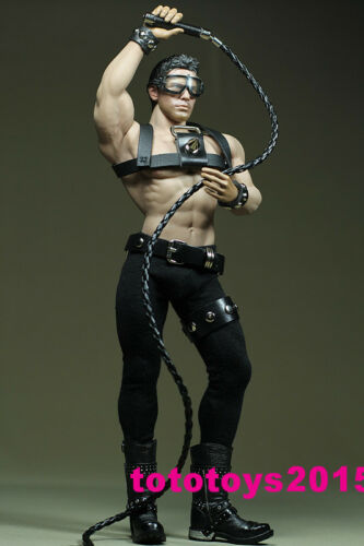 1:6 Scale Black Executives suit for 12 Phicen M34 Male Muscular Body Model TOYs
