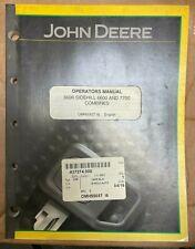 John Deere 6600 Sidehill 6600 Amp 7700 Combine Operator Manual Omh95657 I6 R 6