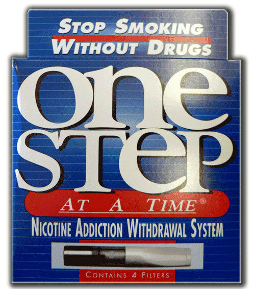 One Step at a Time Quit Smoking - Reduce Your Dependency - 4 Re-usable Filters