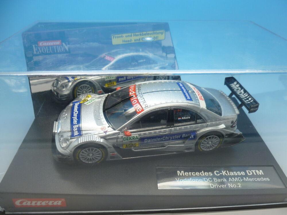 Carrera Evolution C-Klasse DTM, AMG Mercedes Driver no.2, ref 25748