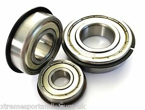 6000 2rs 6006 2rs series high performance bearings chrome or stainless