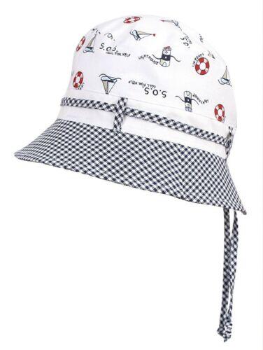 100/% Cotton summer boys bonnet sun HAT 3-24 months 2-6 Years Cap BABY neck