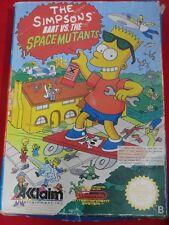 BART NINTENDO NES BART VS THE SPACE MUTANTS NES THE SIMPSONS SPACE MUTANTS