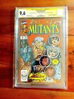 New Mutants 87 1st Cable SS Signed 3x STAN LEE LIEFELD McFarlane CGC 9.6 NM+