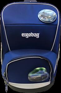 """ERG-EG3-001-301 Set 5 tlg. ergobag Schulranzen wide /""""BlaulichtBär/"""""""