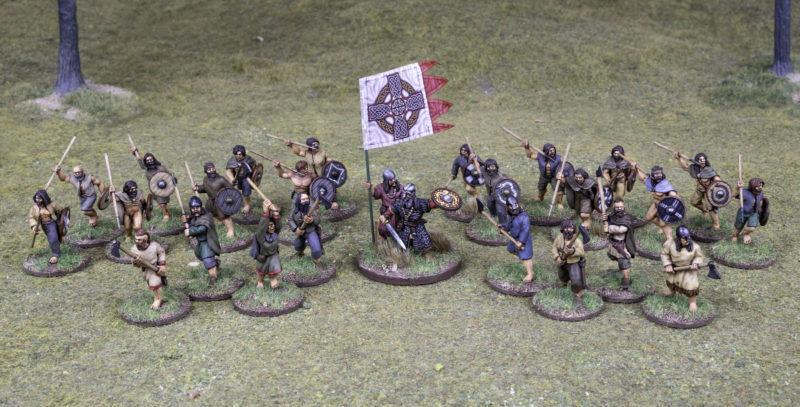 Dark Ages Irish Skirmish Warband for SAGA Footsore Miniatures SAGA 03DAI900