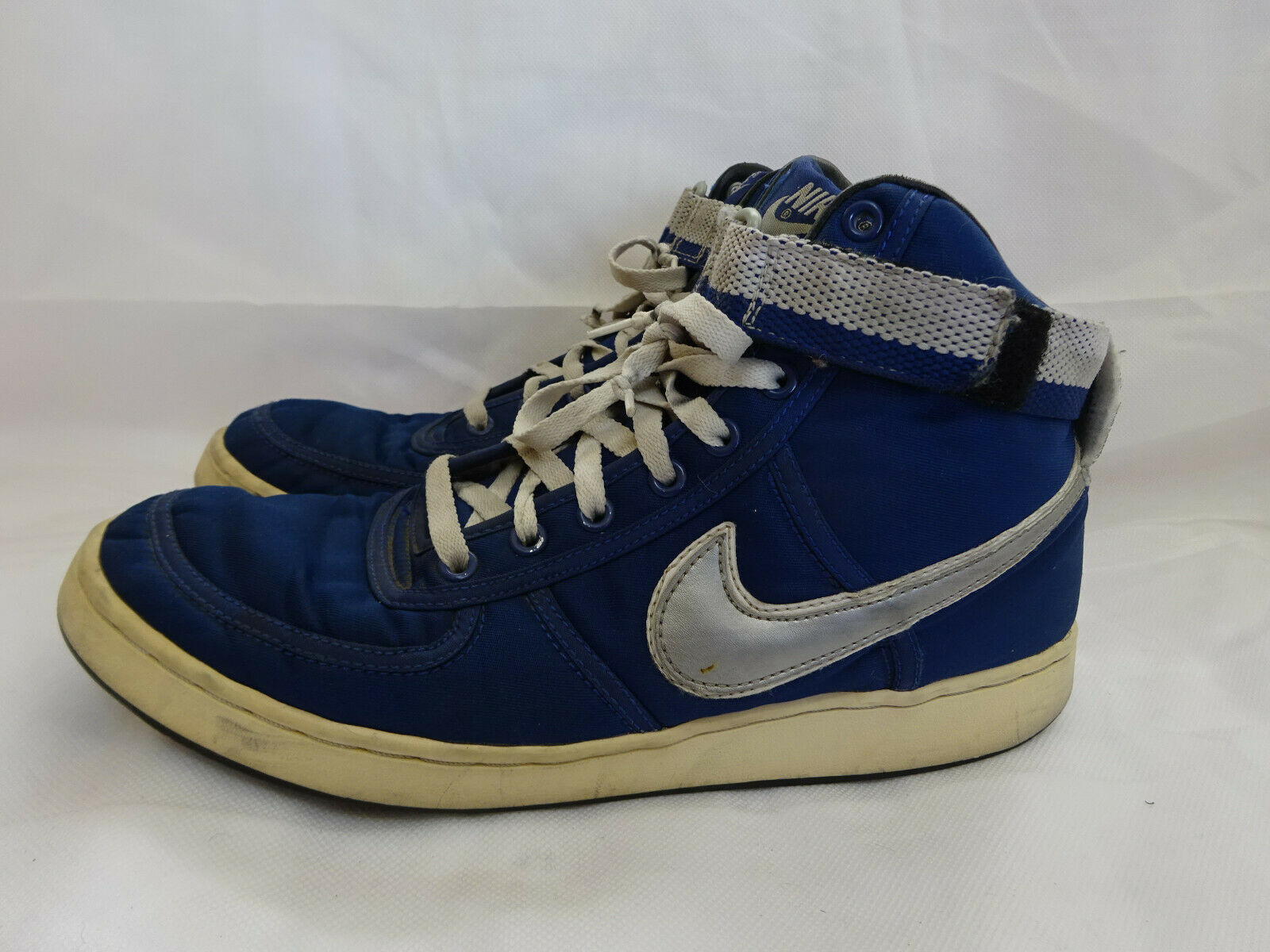 2002 Nike Dunk High -  bluee Silver - Mens size 10.5
