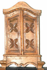 HAND CARVED CUPBOARD =  ONE OF A KIND