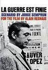 La Guerre est Finie by Jorge Semprun (Paperback, 1988)