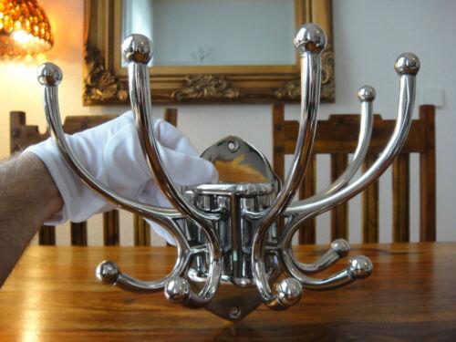 Wandgarderobe Luxus 10 Kleiderhaken Silber Garderobe Jugendstil Antik Wandhaken