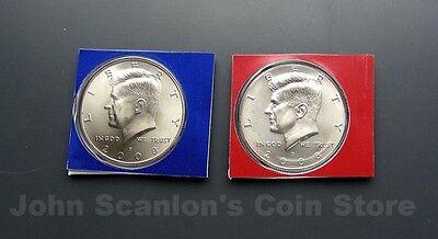 In Mint Cello//Plastic 1971 P/&D Kennedy Half Dollars 2-Coin Set BU PQ