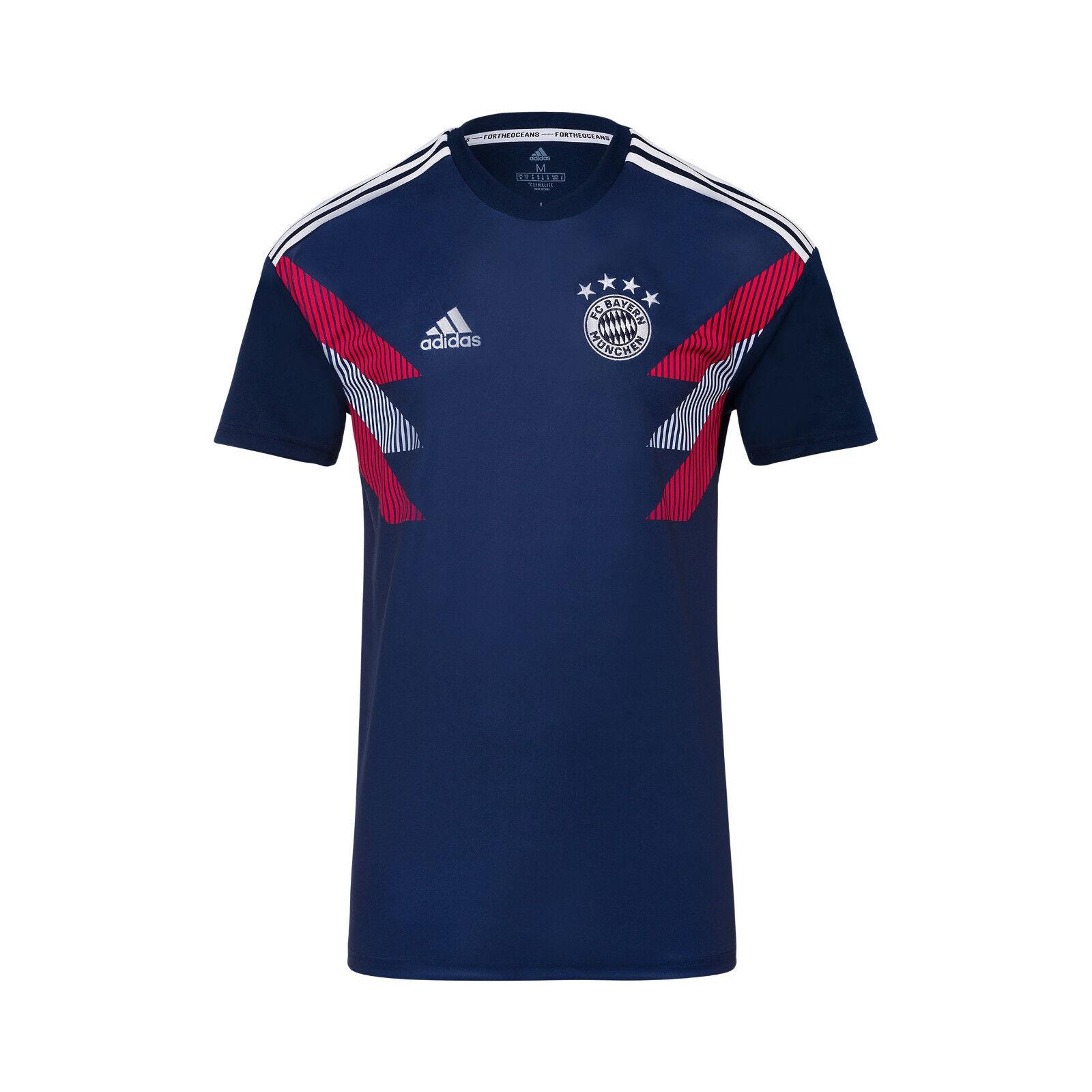 Original adidas FCB FC Bayern München München München Kinder Pre-Match Shirt 2a7bff
