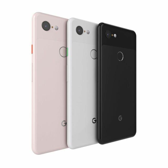 Google Pixel 3 XL - 64GB - Black  (T-mobile AT&T Unlocked) A