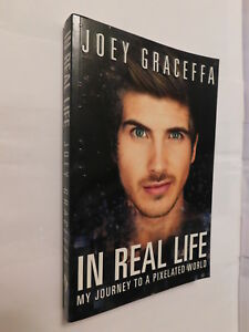 Details about In Real Life My Journey To A Pixelated World by Joey Graceffa  PB youtuber biog