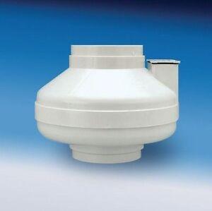 Hp2190 radon mitigation fan 4 5 duct 163 cfm 4 inch outdoor sealed
