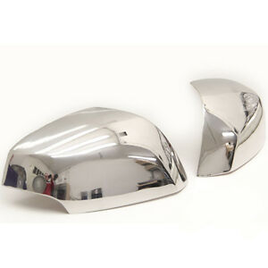 2 coques retro retroviseurs chrome renault laguna 3 berline coupe estate 2007 up ebay. Black Bedroom Furniture Sets. Home Design Ideas