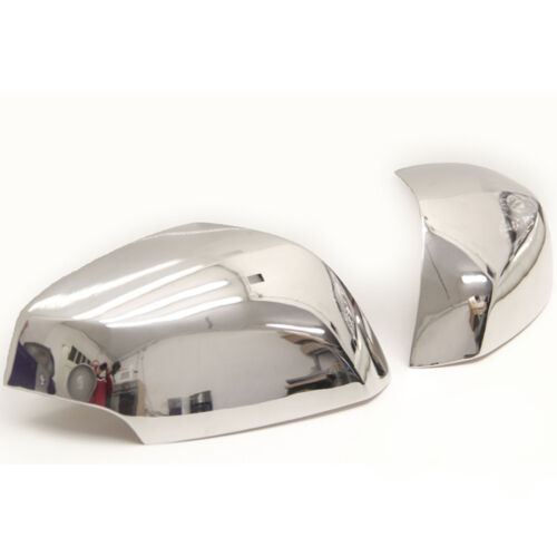 2 COQUES RETROVISEURS RENAULT LAGUNA 3 BERLINE COUPE ESTATE 2007-UP CHROME RETRO
