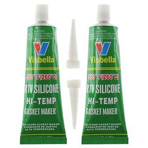 2x-VISBELLA-High-Temperature-Seal-Heat-Resistant-Glue-Silicone-Cap-Oil-Exhaust
