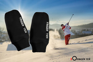 Winter-Warm-Gloves-Golf-Pull-Up-Mittens-Fits-Golfing-and-Sports-Goods-US-Stock