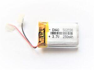 Li-Ion Akku 502030 - 3,7V / 250mAh - für MP3/4, E-Bike Display, GPS, Headset,...