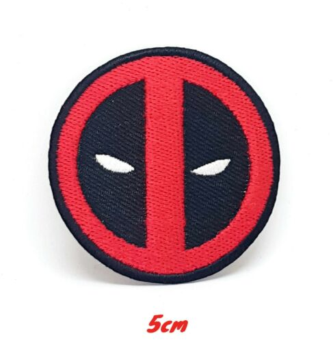 DeadPool logo DeadPool film Brand New Embroidered Iron//Sew on Patch #1243