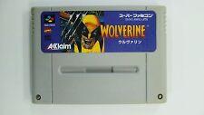 WOLVERINE  Nintendo Super Famicom Japanese SFC SNES Japan FREE Shipping USED