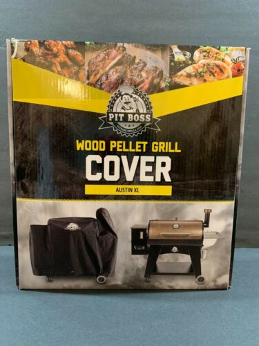 Pit Boss Austin XL Pellet Grill Cover Black Durable Waterproof Barbecue Cover