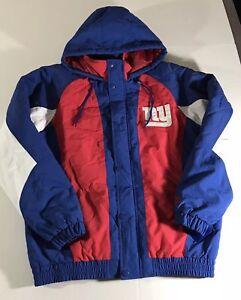 5bc3c4a48 New York NY GIANTS Football NWT Starter Large Lg Jacket Coat NFL