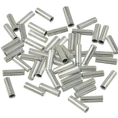 100pcs//Set Bicycle Shifter Brake Gear Inner Cable Tips Ends Caps Crimps Ferrules
