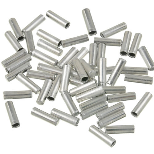 100x Bike Bicycle Gear Shifter Inner Cable Tips Ends Caps Brake Cable Ends Caps