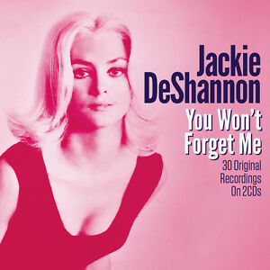 Jackie-DeShannon-You-Won-039-t-Forget-Me-Best-Of-Greatest-Hits-2CD-NEW-SEALED