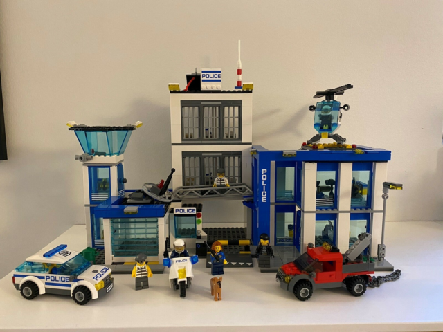 Lego City, 60047 politistation, Super sej Lego city…