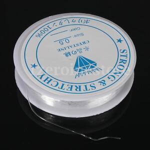 Bobine-20-M-extensible-elastique-fil-cordon-pour-fabriquer-des-bracelets-colliers-fil-0-5-mm