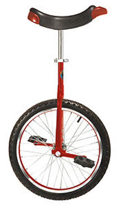 nuovo Unicycle  rosso  20 rueda bicicletta bicicletta Cycle