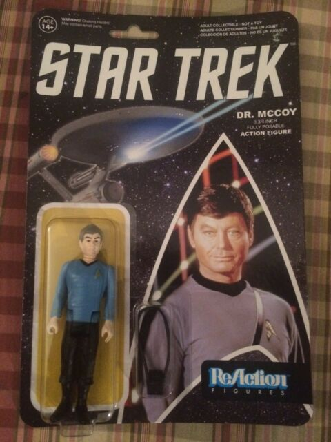 Spock 3-3//4 inch Posable Action Figure Funko ReAction Star Trek Mr