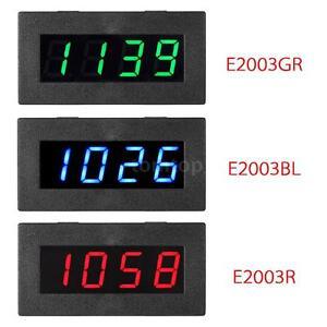 0.56 4LED Digital Frequenz tachometer Car Motor Speed Meter 5-9999R//M DC 8-15V