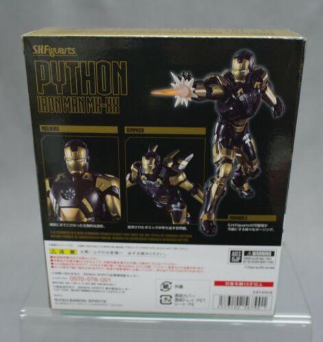 S.H FIGUARTS IRON MAN 3 IRON MAN MK-XX PYTHON Bandai Giappone limitata NUOVO