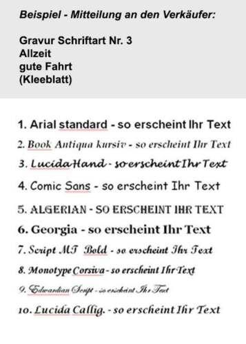 Renault Fuego Gravur Schlüsselanhänger Fuego als Bildgravur /& eigene Textgravur