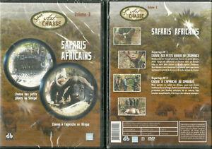 DVD-L-039-ART-DE-LA-CHASSE-SAFARIS-AFRICAINS-PETITS-GIBIERS-NEUF-EMBALLE