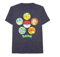 Pokemon Pokeball Group Men's Graphic Tee T-shirt L Xl Xxl 2xl