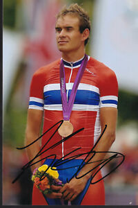 Alexander KRISTOFF – NOR - Rad - Olympia 3.OS Bronze 2012 Foto signiert