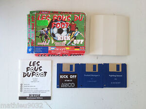 Compilation-Les-fous-du-foot-Kick-off-fighting-soccer-Atari-ST-520ST-FR