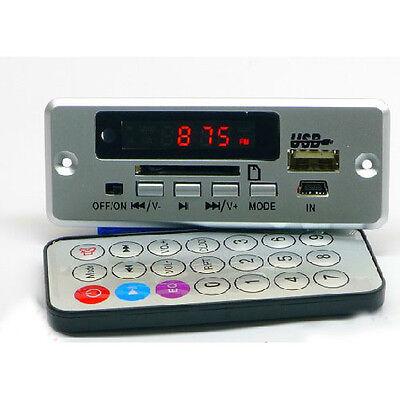LED display 5V mp3 decoder AUX  2*3W amplifier FM radio usb sd for Home HIFI