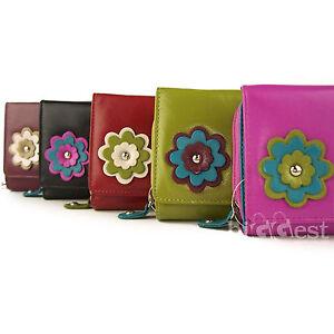 NUEVO-de-Diseno-Mujer-Cuero-Abatible-Bolso-cartera-dominque-5-Colores-Handy
