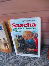 Sascha und das schwarze Fohlen, von Eva Wikander, aus dem Schneiderbuch Verlag