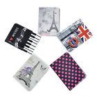 Fashion Journey Travel Passport Holder Wallet Purse ID Card Organizer Case Cover