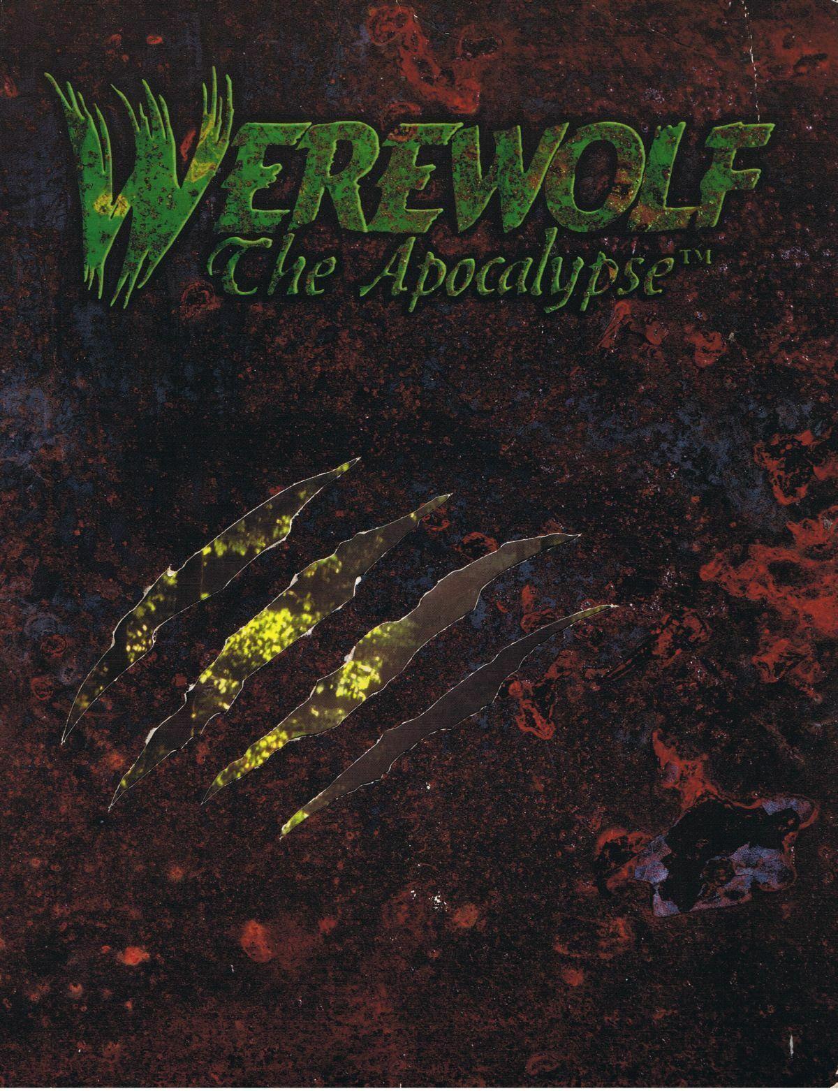 Hombre lobo el apocalipsis Tapa Dura 1st edición 1991