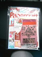Papercraft Inspirations Magazine Issue 157 November 2016 (new) with Free Gift